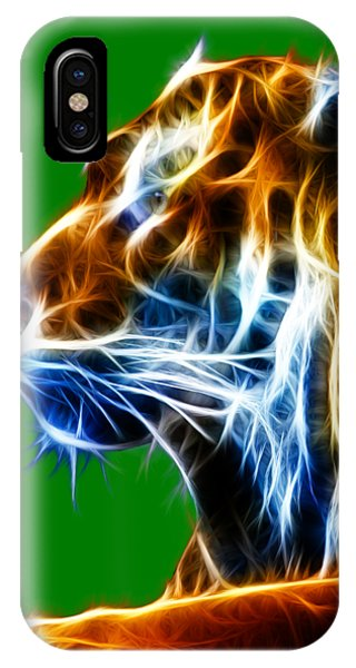 Flaming Tiger IPhone Case