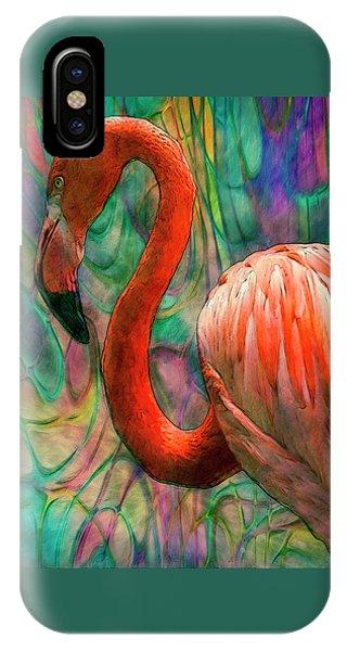 Flamingo 7 IPhone Case