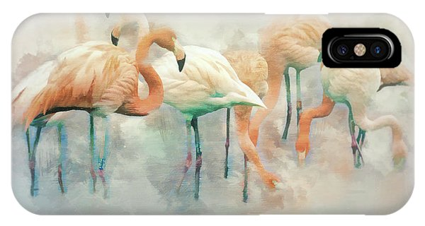 Flamingo Fantasy IPhone Case