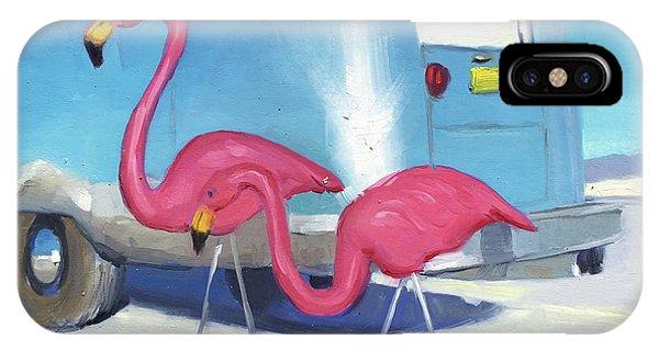 Flamingo Migration IPhone Case