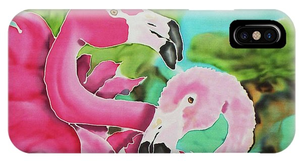Flamingo Passion IPhone Case