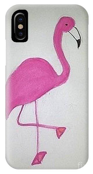 Flamingo Pink IPhone Case
