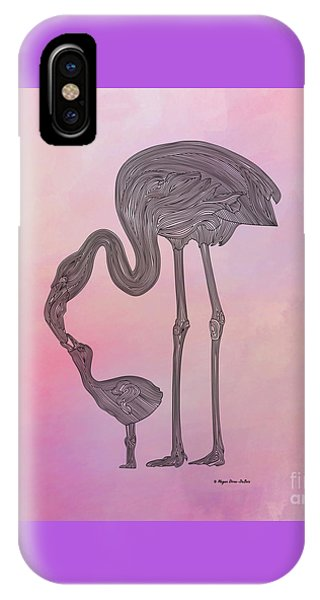 Flamingo6 IPhone Case