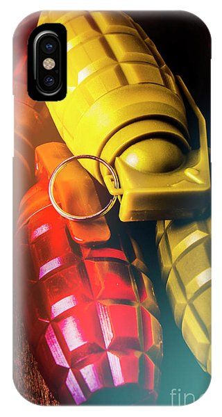 Armed iPhone Case - Flare The Explosive Shakeup by Jorgo Photography - Wall Art Gallery
