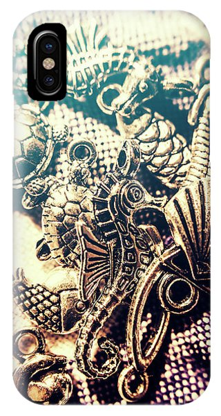 Seahorse iPhone Case - Flares Of Nautical Beauty by Jorgo Photography - Wall Art Gallery