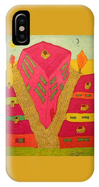 Flat Iron Bldg IPhone Case