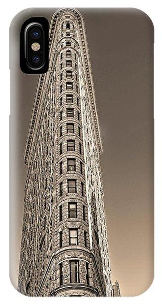 Flat Iron Building New York City IPhone Case