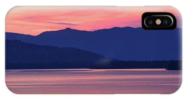 Flathead Lake At Sunrise IPhone Case