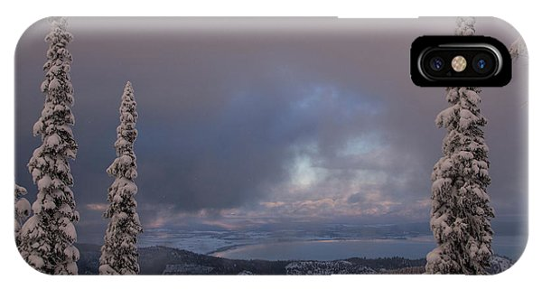 Flathead Winter 2016 IPhone Case