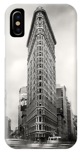 New York City Taxi iPhone Case - Flatiron District Rush Hour by Jessica Jenney