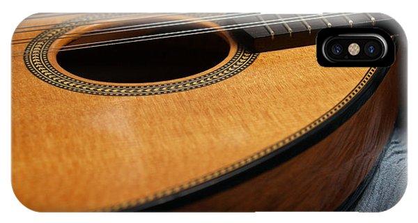 Flatiron Mandolin On Blue IPhone Case