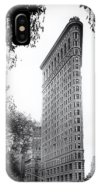 New Leaf iPhone Case - Flatiron Noir by Jessica Jenney