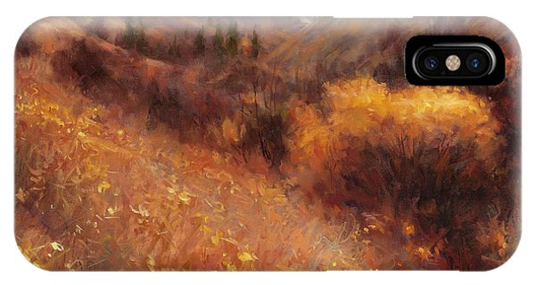 Season iPhone Case - Flecks Of Gold by Steve Henderson