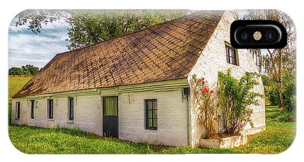 Flemish Cottage IPhone Case
