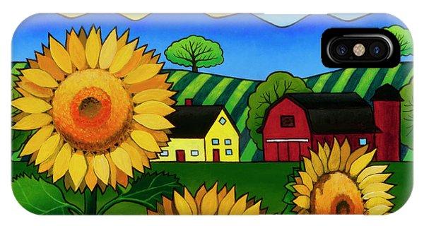Fleur Du Soleil IPhone Case
