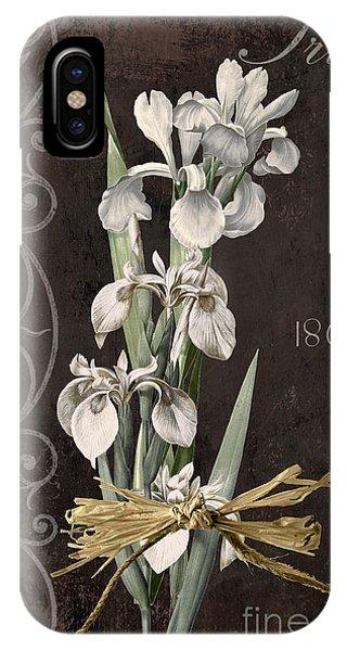 Amaryllis iPhone Case - Fleurs De Paris II by Mindy Sommers