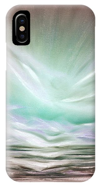 Flight At Sunset - Abstract Sunset IPhone Case