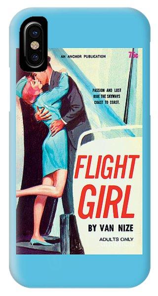 Flight Girl IPhone Case