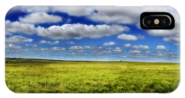 Flint Hills Panorama 1 IPhone Case