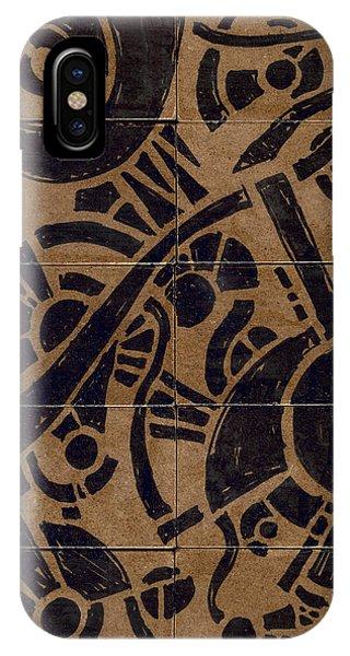Flipside 1 Panel B IPhone Case