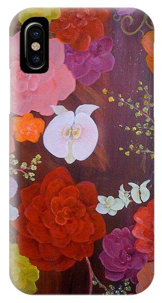 Flirty Blossoms Phone Case by Sabra Chili