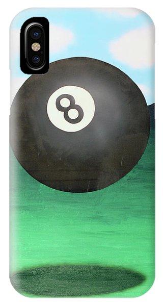 Floating 8 IPhone Case