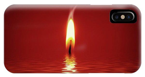 Floating Candlelight IPhone Case