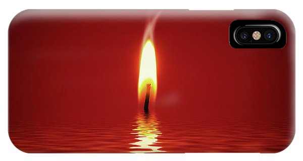 Floating Candlelight IPhone Case