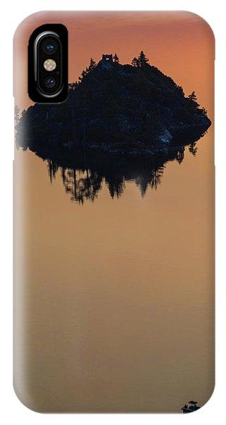 Floating Castle IPhone Case