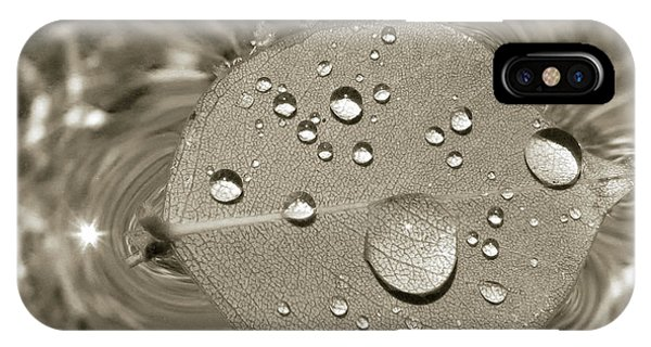Floating Droplets IPhone Case