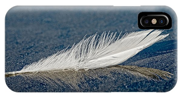 Floating Feather Reflection IPhone Case