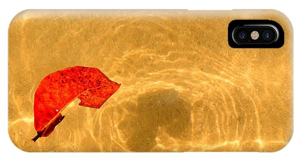 Floating In Gold IPhone Case