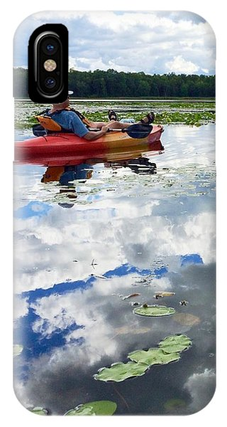 Floating In The Sky IPhone Case