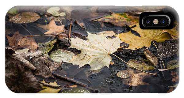 Floating Leaves IPhone Case