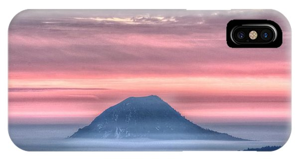 Floating Mountain IPhone Case