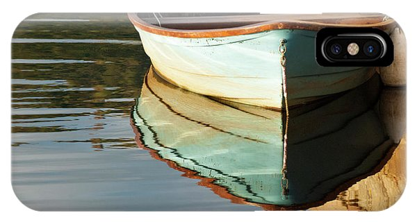 IPhone Case featuring the photograph Floating On Blue 44 by Wendy Wilton