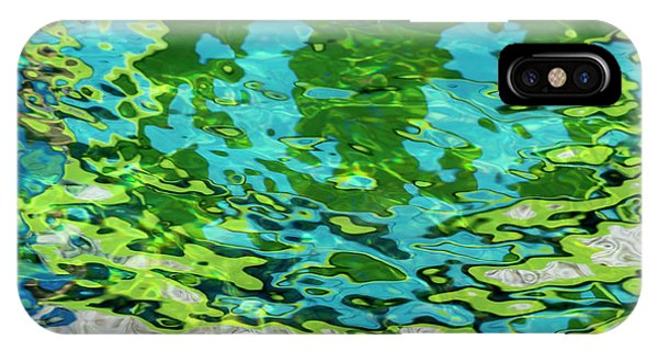 IPhone Case featuring the photograph Floating On Blue 46 by Wendy Wilton