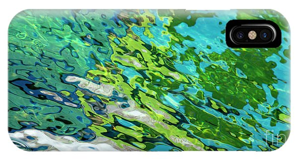 IPhone Case featuring the photograph Floating On Blue 49 by Wendy Wilton