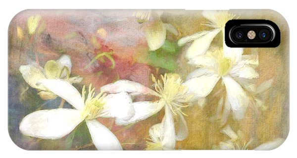 Floating Petals IPhone Case