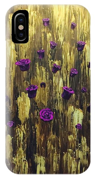 Floating Royal Roses 1 IPhone Case