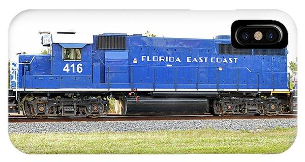 Floirda East Coast Engine IPhone Case