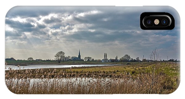 Floodplains Near Culemborg IPhone Case