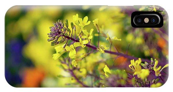 Flora Flora Flora IPhone Case