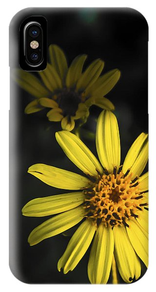 Flora In Yellow IPhone Case
