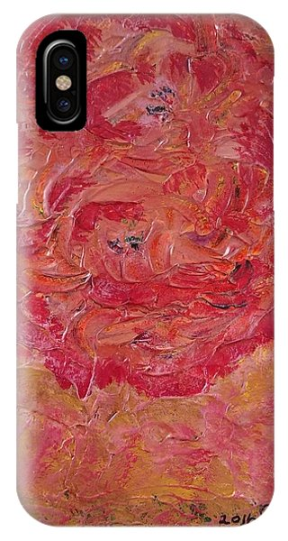 Floral Abstract 1 IPhone Case