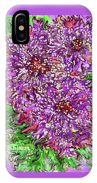 Floral Burst IPhone Case