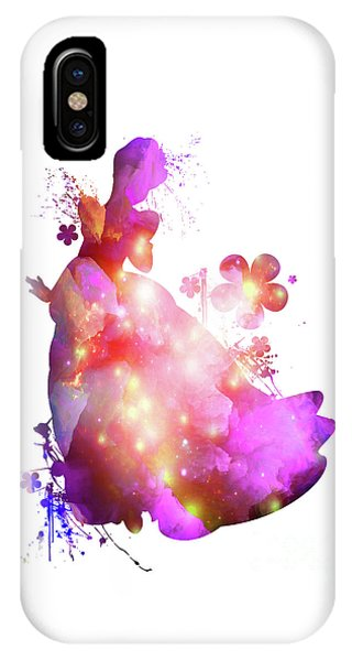 Floral Cinderella  IPhone Case