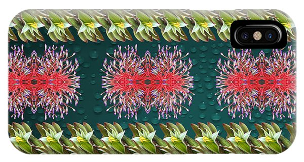 Floral Contemporary Art IPhone Case