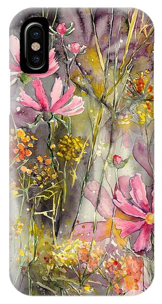Poppies iPhone Case - Floral Cosmos by Suzann Sines