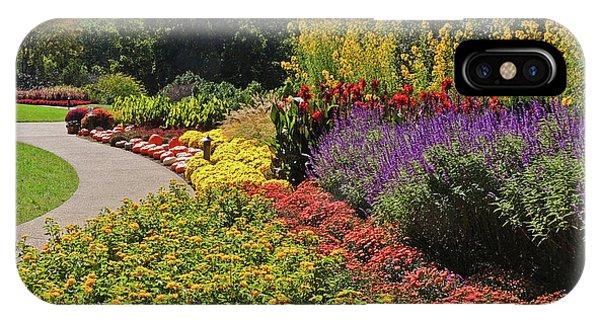 Floral Display At Cheekwood Gardens 2 IPhone Case